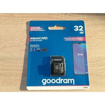 Karta pamięci GOOD RAM MicroSD Class 10 32GB