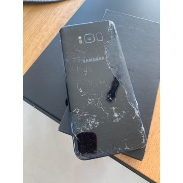 Samsung s8 plus / uszk ekran