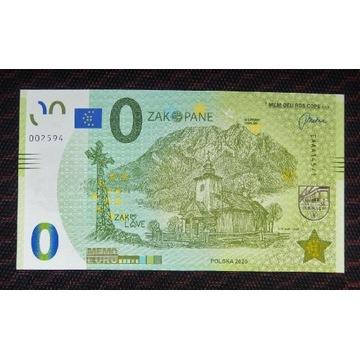0 Euro - Zakopane, stan UNC