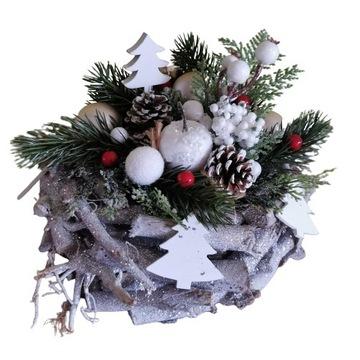Stroik Boże Narodzenie na pomnik grób dziecięcy