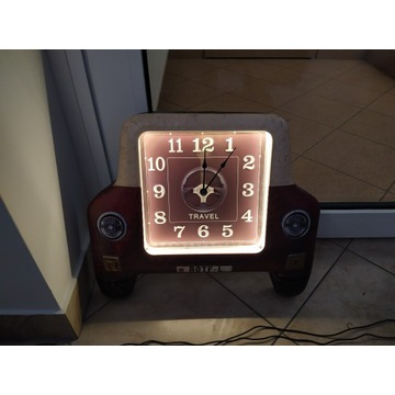 Okazja nowy zegar LED metalowy