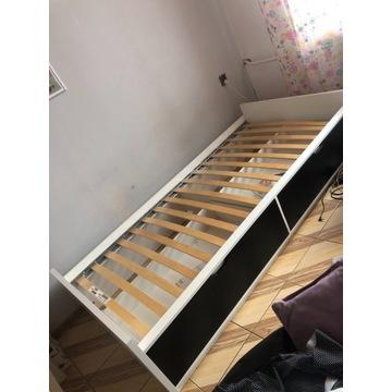 Łóżko jednosobowe 90x200 + materac