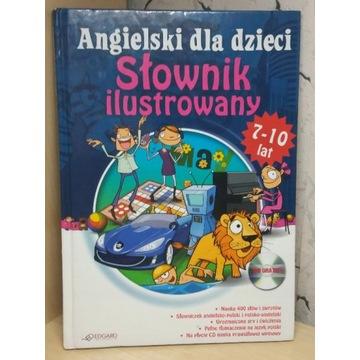 Słownik ilustrowany. Angielski dla dzieci+CD 7-10l