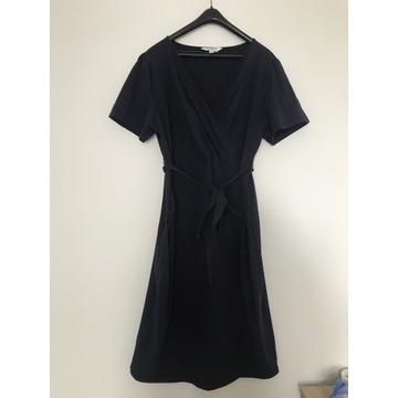 Sukienka ciążowa roz. 42, granatowa, prawie nowa