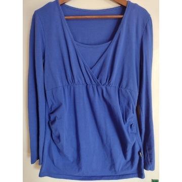 Bluzka niebieska ciążowa rozmiar XL