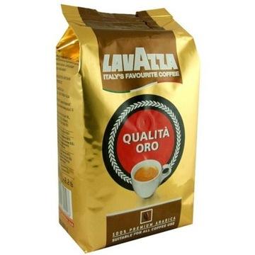 Kawa ziarnista Lavazza Qualita Oro złota 1kg