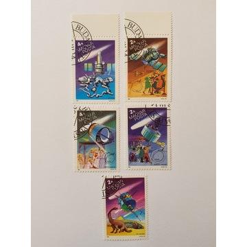 (1749) Węgry znaczki kosmos bajki