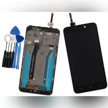 Wyświetlacz LCD Xiaomi REDMI 4X z RAMKĄ czarny