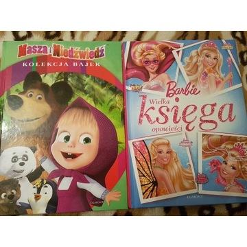 Masza i Niedźwiedź oraz Barbie
