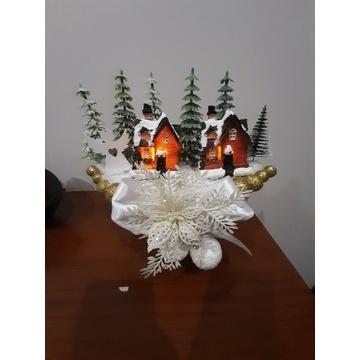 Podświetlany stroik Led Boże Narodzenie