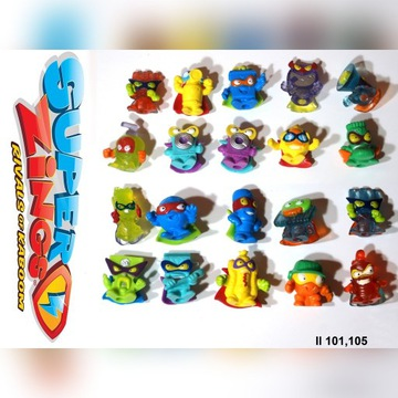 Super Zings Seria 2 *** 20 sztuk