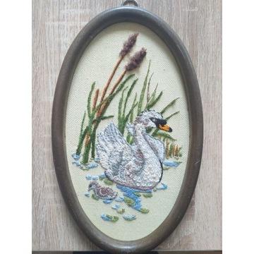 Ręcznie haftowane obrazki- haft krzyżykowy