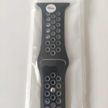 Pasek Apple Watch Band 42 mm, Black /Gray