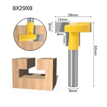 Frez do wykonywania wsuwek typu T 8x29x8       8mm