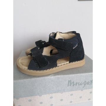 Sandały sandałki mrugala skórzane 22