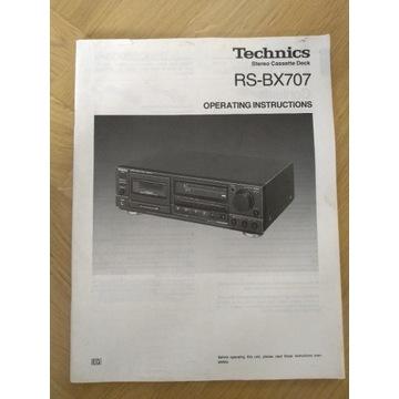Technics RS-BX707 SCHEMAT instrukcja obsługi