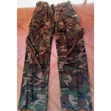 spodnie bojówki M65 Brandit woodland