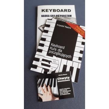 4 Podręczniki do nauki gry na keyboardzie