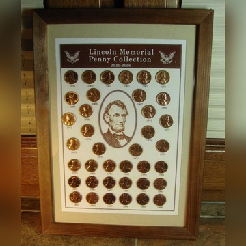120 szt BLISTER Lincoln Penny Collection + gratisy