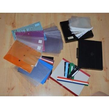Materiały biurowe do organizacji dokumentów