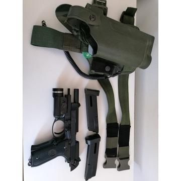 Replika Beretta M92F/M9 Full Metal Gas AUTO BACK