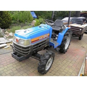 Traktor japoński ISEKI SIAL 243, wspomaganie 24 KM