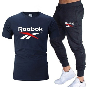 Komplet reebok ,spodnie +koszulka mix kolorówS-XXL