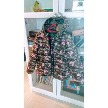 Benetton kurtka pikowana 6-7lat