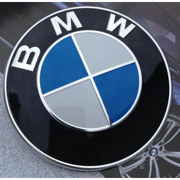 Oryginalny emblemat znaczek bmw na maskę e60 e39