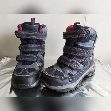 Dziecięce buty zimowe, rozm. 28/18 cm.