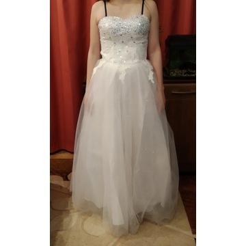 Nowa piękna suknia ślubna S suknia ślubna 2020