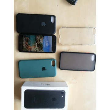 Apple iPhone 7 32GB Black Mat Nowa Bateria komplet