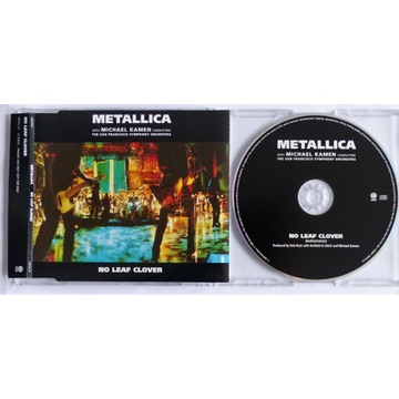 Metallica - No Leaf Clover - CD Single Promo 1999