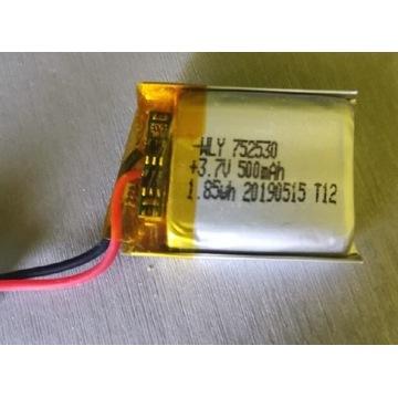 Akumulator Li-po 500mAh 3,7v