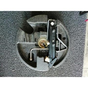 Wkład koła zapasowego zapas dojazdówka BMW 17