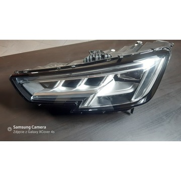 Lampa lewa Audi A4 B9  MATRIX LED 8W0941035 lewy