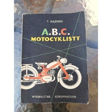 ABC motocyklisty.Książka,instrukcja.WFM,JUNAK.