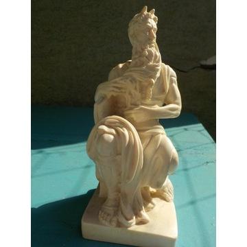 Mojżesz Michał Anioł R. Leoni rzeźba