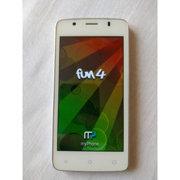 MyPhone fun 4 biały + dodatkowa bateria gratis