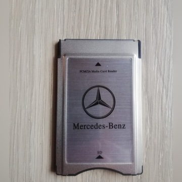 PCMCIA  Czytnik kart SD, adapter do Mercedes Benz