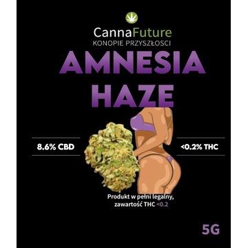 Susz CBD Amnesia haze 8.6% 5g