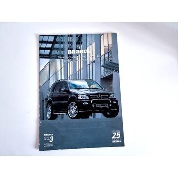 Prospekty Mercedes Brabus A W168 ML W163