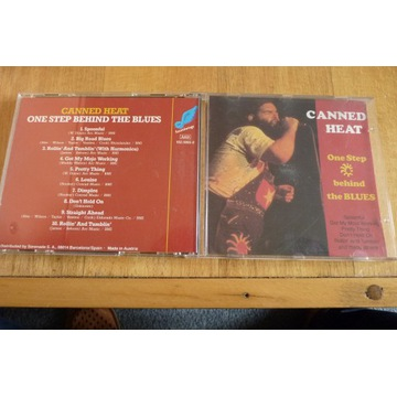CANNED HEAT On Step behind the Blues CD