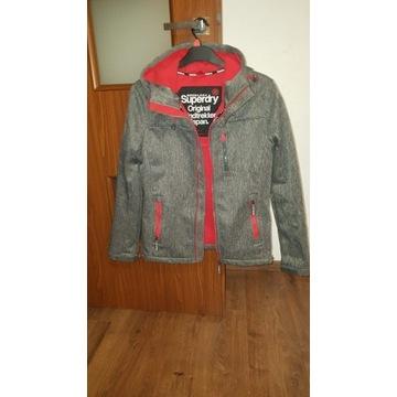 Nowy model kurtka softshel melanż SUPERDRY M jnowa
