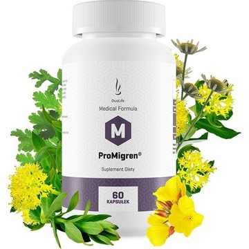 DuoLife Medical ProMigren - bóle głowy, migrena