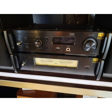Zestaw stereo TEAC AP-505+NT-505 ekspozycja gwar