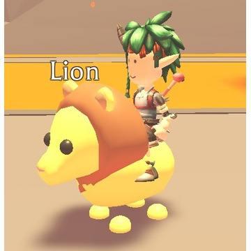 Roblox Adopt Me Lion FR