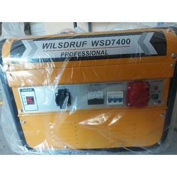 Agregat prądotwórczy WILSDRUF WSD7400 PROFESSIONAL