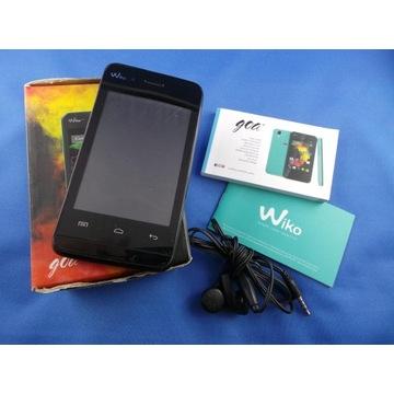 Wiko Goa czarny, telefon smartfon