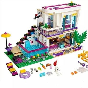 Domek Gwiazdy Pop Livi Andrea z LEGO Friends komp.